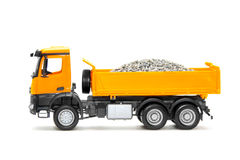 Toy heavy truck Stock Photo
