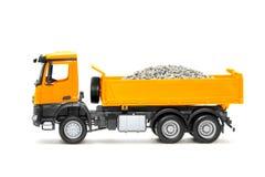 Toy heavy truck Stock Photo