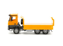 Toy heavy truck Royalty Free Stock Photos