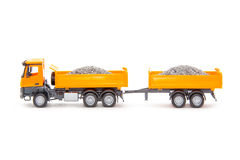 Toy heavy truck Royalty Free Stock Image