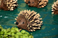 Toy hedgehog Royalty Free Stock Photo