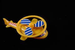 Toy helicopter Stock Photo