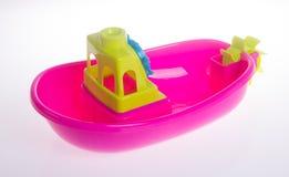 toy Het speelgoed van de strandbaby op de achtergrond royalty-vrije stock afbeeldingen