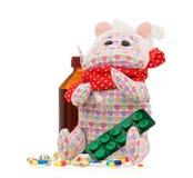 Toy hippopotamus Stock Image