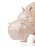 Toy hippopotamus Stock Images