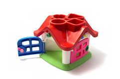 Toy home Royalty Free Stock Images