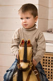 Toy horse. royalty free stock photos