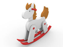 Toy horse Royalty Free Stock Photos