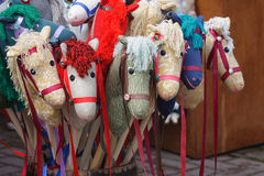 Toy horses Royalty Free Stock Photos