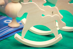 Toy horses Royalty Free Stock Images