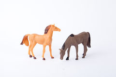 Toy Horses Fotos de Stock Royalty Free