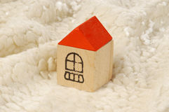 Toy house Royalty Free Stock Image