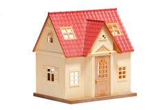 Toy house Stock Image