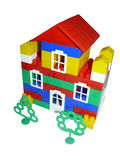 Toy house from the designer Stock Image