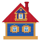 A toy house Royalty Free Stock Photo