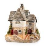 Toy house. Toy house isolated on white background Royalty Free Stock Image