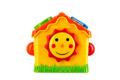 Toy house isolated on white. Toy house isolated on white background Stock Images