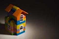 Toy house model Stock Photos