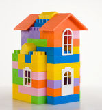 Toy house model Stock Photos