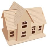 Toy house vector Stock Image