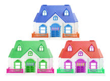 Toy Houses Royalty Free Stock Image