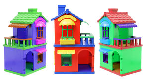 Toy Houses Fotografia de Stock