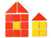 Toy houses Stock Photos