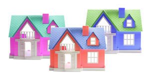 Toy Houses Royalty Free Stock Photo