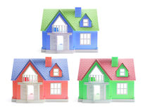 Free Toy Houses Royalty Free Stock Photos - 9677488