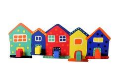 Free Toy Houses Royalty Free Stock Photo - 97846705