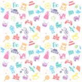 Toy icon and Background. Toy, icon . Background,play,kite Stock Images