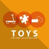 Toy icon Royalty Free Stock Photo