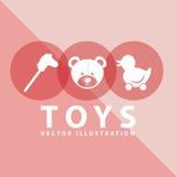 Toy icon Royalty Free Stock Photos
