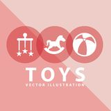 Toy icon Stock Photography
