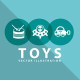 Toy icon Royalty Free Stock Images