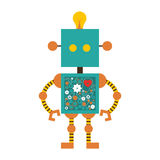 Toy icon image. Toy robot icon image vector illustration design Stock Images