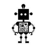 Toy icon image. Toy robot icon image vector illustration design Royalty Free Stock Photography