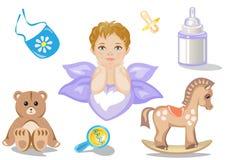 Toy Icons Lizenzfreies Stockbild