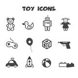 Toy Icons Lizenzfreies Stockbild