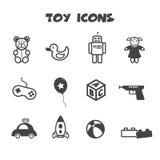 Toy Icons Immagine Stock Libera da Diritti