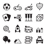 Toy Icons Royaltyfria Bilder
