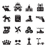 Toy Icons Photo stock
