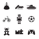 Toy Icons Imagem de Stock