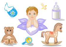 Toy Icons Royalty Free Stock Image