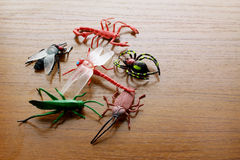 Toy Insects Royalty Free Stock Photo