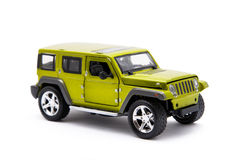 Toy jeep Royalty Free Stock Images