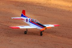 Toy jet airplane flaying , Made with foam.  stock images