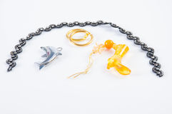 Toy jewelry Stock Image