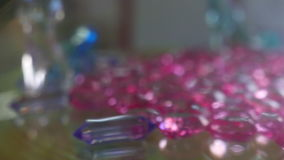 Toy Jewels stock video footage