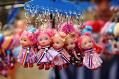 Toy Key Chains royalty free stock photos